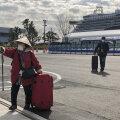 VIDEO | Jaapanis koroonaviiruse karantiinis olevalt ristluslaevalt hakati reisijaid maale lubama