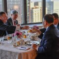 USA välisminister Pompeo sõi koos Põhja-Korea tippametnikuga New Yorgis Ameerika veiseliha