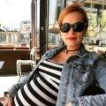 Beebiootel Marilyn Kerro naudib rasedust täiel rinnal