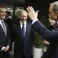 Medvedev, Putin ja Killy