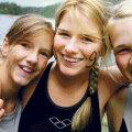 Kolm õde löövad triatlonis platsi puhtaks