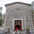 Liiva kalmistu põlenud kabel 3.12.2018