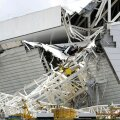 FOTOD: Kokku vajunud kraana tappis jalgpalli MM-i staadioni ehitusel Brasiilias kolm töölist