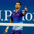 Novak Djokovic US Openil.