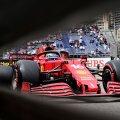 Charles Leclerc Monaco GP kvalifikatsioonis.