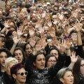 Tuhanded avaldasid Hispaanias meelt grupivägistajate õigeksmõistmise vastu