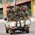 Guinea sõjaväelased eile pealinnas Conakrys.