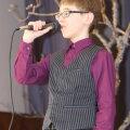 11-13aastaste vanuserühmas võitis Varbola lauluvõistluse Timo Murd. Foto Piret Linnamägi