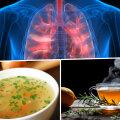 Need toiduained aitavad kopsudel limast vabaneda ja hingamisteid avada