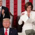 VIDEO | Trump kasutas kõnet olukorrast riigis valimiskampaania tegemiseks, Pelosi rebis kõne puruks
