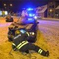 Viljandis põrkasid kokku kaks BMWd