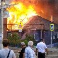 VIDEO ja FOTOD | Suurtulekahjus Venemaal Rostovis sai kannatada 120 hoonet, sajad inimesed jäid kodutuks