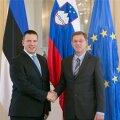 Jüri Ratas ja Sloveenia peaminister Cerar