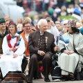 FOTOD | Presidendid on kaunites rahvarõivastes ning Jüri Ratasel on seljas mulgi kuub