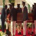 Haiti presidendi eilsed matused.