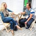 Eesti Päevalehe ajakirjanik Piia Puuraid ja kultuuriminister Indrek Saar rääkisid Rios sporditeemadel.
