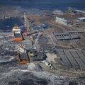 Torudeladu Karskrona sadamas Rootsis esimese Nord Streami torujuhtme ehitamise ajal.