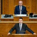 Peaminister Jüri Ratas riigikogus
