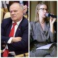 Vene kommunistide juht Zjuganov nimetas Sobtšaki lubadust Lenin ära koristada häbematuseks ja barbaarsuseks