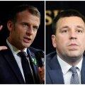 Emmanuel Macron ja Jüri Ratas