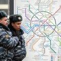 Moskva metroos toimus jalgpallifännide massilööming