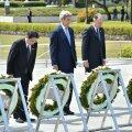 FOTOD ja VIDEO: John Kerry külastas seni kõrgeima USA esindajana Hiroshima tuumaplahvatuse memoriaali