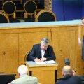 Siim Kiisler andis riigikogus ametivande