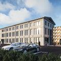 ФОТО   Столетнее промышленное здание на Пярнуском шоссе в Таллинне обретет новый вид