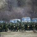 """""""Rohelised mehikeste"""" kogunemine Krimmis 2014. aasta märtsis"""