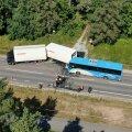 Õnnetus Kloogaranna maanteel.