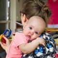 VÄGA NOOR PATSIENT: Luise sündis möödunud aasta juulis ja jäi haigeks kolm kuud hiljem.