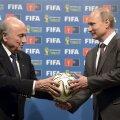 Putin: FIFA ametnike kummaline vahistamine USA palvel ei puuduta kuidagi Venemaad