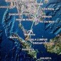 Naftaplatvormi tööline väidab, et nägi Malaysia Airlinesi kadunud lennukit Lõuna-Hiina mere kohal põlemas