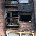 FOTOD: Mustamäe kortermaja põleng: üks korter sai rängalt kahjustada, teised vähem