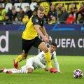 Championsleague game between Borussia Dortmund vs Paris Saint-Germain