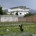 Mõni päev pärast rünnakut tehtud foto bin Ladeni majast. See lammutati järgmisel aastal.