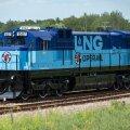В Тапа построен первый в странах Балтии линейный СПГ-локомотив Operail