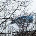 Pika Hermanni tornis heisati sinimustvalge lipp