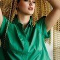 Платье: Marina Rinaldi Sport 229,00 €Серьги: Maarja Niinemägi / Krunnipea 126,00 €Браслеты: собственность стилиста