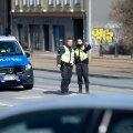Tallinn, 17.04.2020. Avarii Tartu maantee ja Türnpu tänava ristmikul.