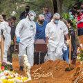 Похороны жертв коронавируса