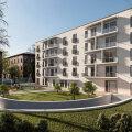 ФОТО | Балконы и окна в пол: на Пярнуском шоссе началось строительство роскошной пятиэтажки