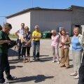 Pildil pr. Ene Ergma külaskäik OÜ-sse Suigu Veod 2011.a. suvel