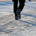 Kui suur on sinu ümbruskonnas libedaoht ja millises seisus kõnniteed?