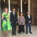Assadiga kohtunud Yana Toom: see on naljanumber. Mul on viis last ja ma ronin ei tea kuhu ja saan siis veel selle eest peksa