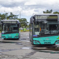 ФОТО   В Таллинне уже тестируют первые газовые автобусы. Смотрите, как они выглядят