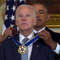 VIDEO: Obama üllatas asepresident Bidenit riigi kõrgeima autasuga