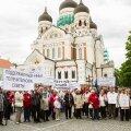 """Ühendus """"Vene kool Eestis"""" tahab kaasata kõnelustele Venemaa"""