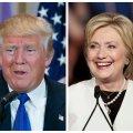 USA eelvalimiste superteisipäeval saatis edu Clintonit ja Trumpi