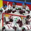 Jäähoki MM Riias jätkub Lätita, Saksamaa päästis end ja Kanadat